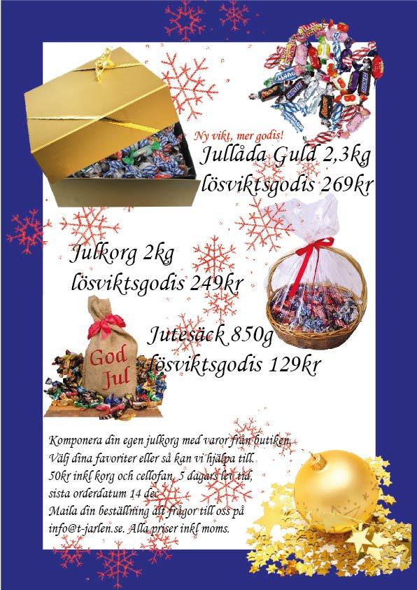 Beställ din julkorg hos oss!